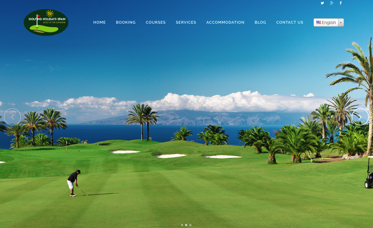 Golfing Holiday Spain